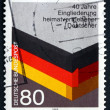 Postage stamp Germany 1985 Reintegration of German WWII Refugees — Stock Photo #49607693
