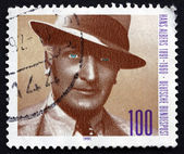 Postage stamp Germany 1991 Hans Albers, Actor and Singer — Stock Photo