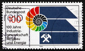 Postage stamp Germany 1989 Trade Union — Stock Photo