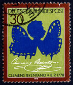 Postage stamp Germany 1978 Clemens Brentano, Poet — Stock Photo
