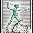 Postage stamp Greece 1937 Zeus of Dodona, Statue — Stock Photo #49816055