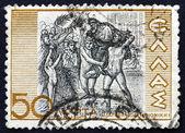 Postage stamp Greece 1937 Diagoras of Rhodes — Stock Photo
