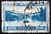 Postage stamp Greece 1934 Approach to Athens Stadium — Stock Photo