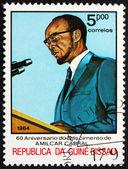 Postage stamp Guinea-Bissau 1984 Amilcar Cabral, Political Leade — Stock Photo