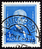 Postage stamp Hungary 1932 Dr. Ignaz Semmelweis, Hungarian Physi — Stock Photo