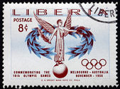 Postage stamp Liberia 1956 Goddess of Victory — Photo