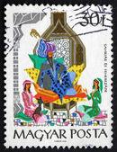 Postage stamp Hungary 1965 Shahriar and Scheherazade — Stock Photo