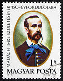 Postage stamp Hungary 1973 Imre Madach, Writer and Poet — Stock Photo