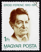 Postage stamp Hungary 1980 Ferenc Erdei, Politician — Stock Photo