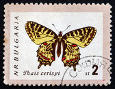 Postage stamp Bulgaria 1962 Eastern Festoon, Butterfly — Stock Photo