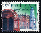 Postage stamp Poland 2004 Sandomierz, Town — Stock Photo