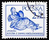 Postage stamp Poland 1979 Peace, by Andre le Brun — Stock Photo