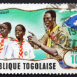 Postage stamp Togo 1968 Scout Leader Training Cub Scouts — Stock Photo #51535147