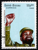 Postage stamp Guinea-Bissau 1988 Samora Machel — Stock Photo