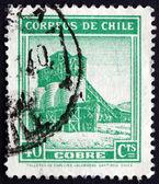 Postage stamp Chile 1939 Copper Mine — Stock Photo