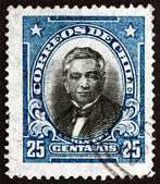 Postage stamp Chile 1929 Manuel Montt, Chilean Politician — Foto Stock