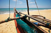 Boat on Sri Lanka — Stock Photo
