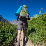 Hike in Glacier Park — Stock Photo #12417289