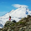Hike in mt.Baker area — Stock Photo