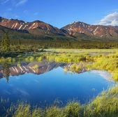 Sjön på alaska — Stockfoto