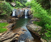 водопад на шри-ланке — Стоковое фото