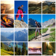 Hike collage — Stock Photo #13509550
