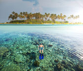 Maldives — Stock Photo