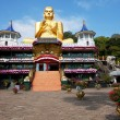 Buddhas statue on Sri Lanka - Stock Photo