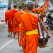 Stock Photo: Monks in Laos