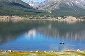 Lake in Mongolia — Stock Photo