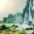 Waterfall in Vietnam — Stock Photo #16027217