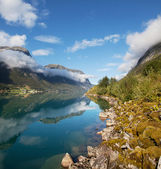 Fjord in Norway — Stock Photo