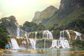 Waterfall in Vietnam — Foto Stock