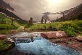 Glacier park — Stockfoto