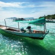 Boat in Vietnam - Stockfoto