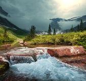 Karnet gletscherpark — Zdjęcie stockowe
