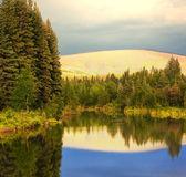 Lake on Alaska — Stock Photo