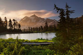 Picture lake — Foto de Stock