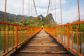 Bridge in Vang Vieng — Stock Photo