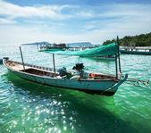 Boat in Vietnam — Stock Photo