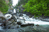 Waterfall on Alaska — Stockfoto