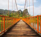 Bridge in Vang Vieng — Stock Photo