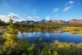 Lago en alaska — Foto de Stock