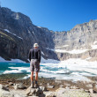 Hike in Glacier - Stock Photo