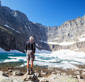 Hike in Glacier — Foto de Stock