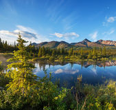 Lago no alasca — Foto Stock
