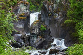 Waterfall on Alaska — Stok fotoğraf