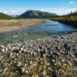 Stock Photo: River on Alaska
