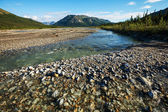 River on Alaska — Stock Photo