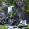 Waterfall on Alaska - Stock Photo